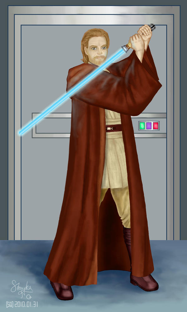 Jedi Master for Dido-Antares by stayka