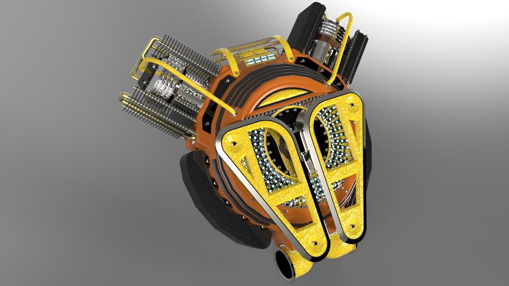mecha backpack power unit v2 by demigogos