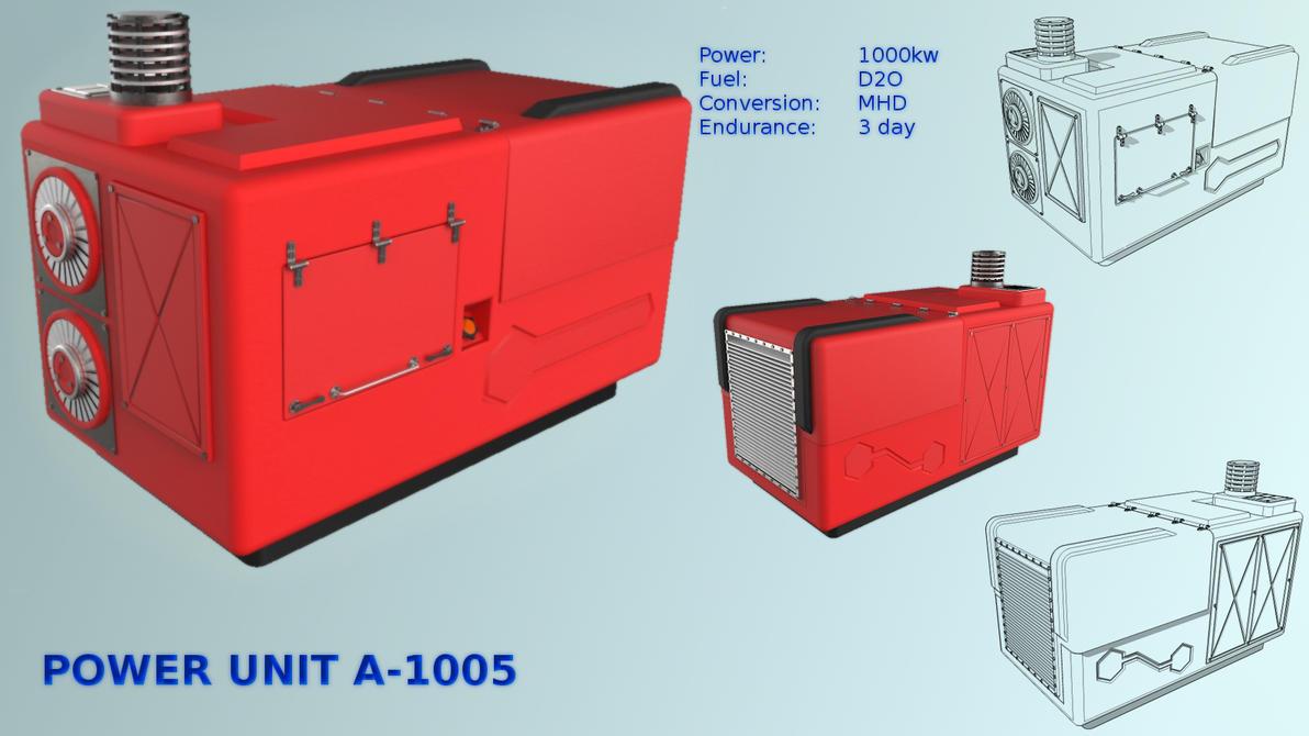 APU fusor industrial power unit A-1005 by demigogos