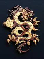 Chinese Dragon by RamageArt