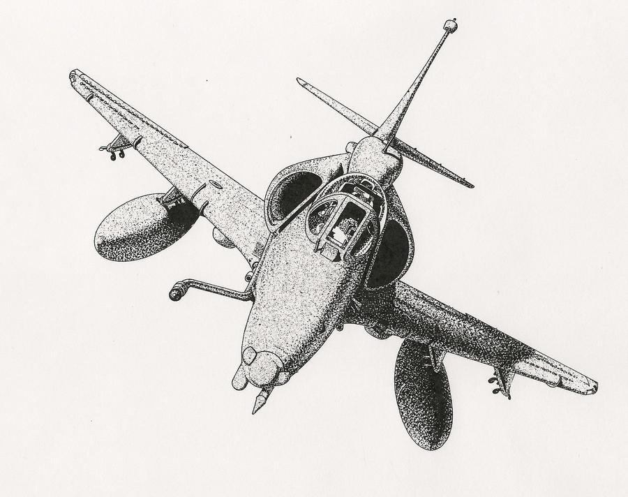 A-4 SkyHawk by RamageArt