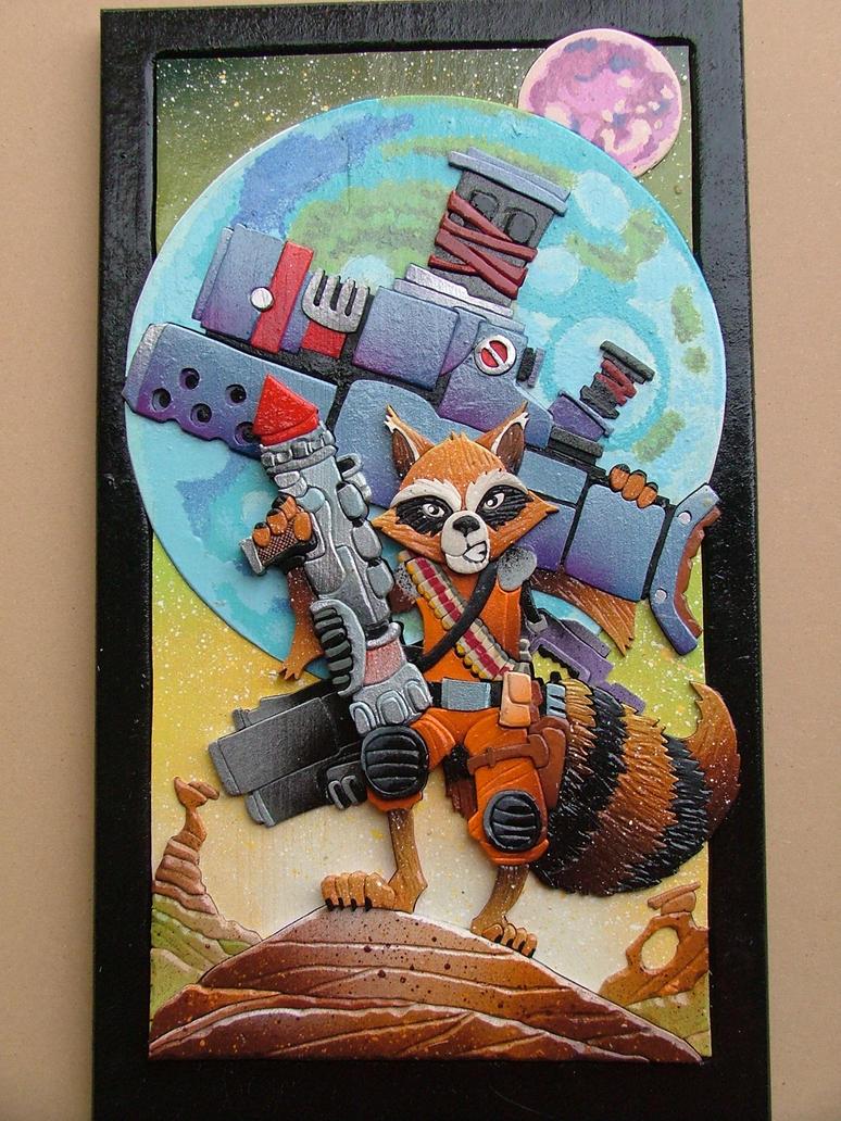 Rocket Raccoon by RamageArt