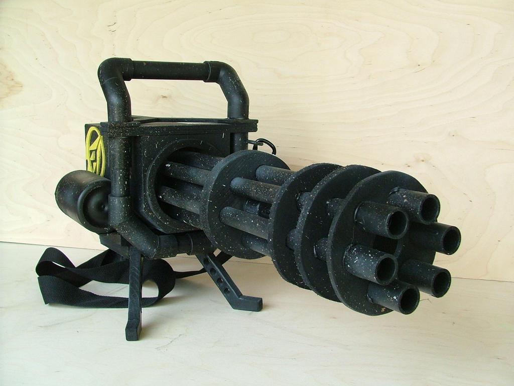 Gatling Gun Cosplay Prop by RamageArt