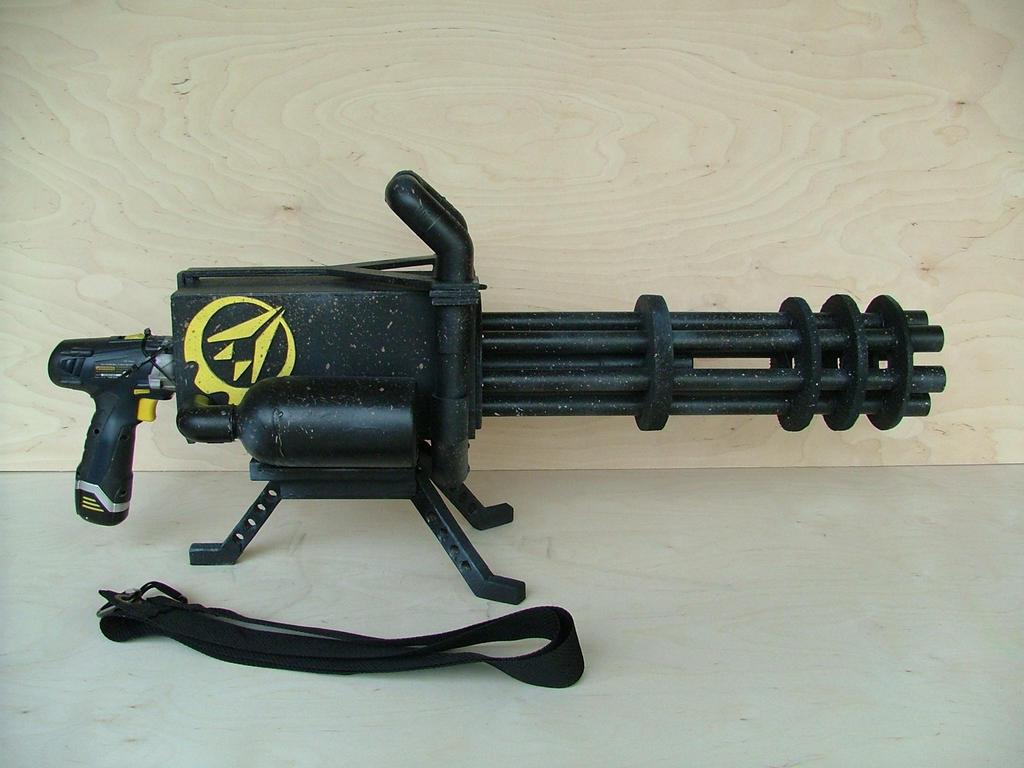 Gatling Gun 2 by RamageArt