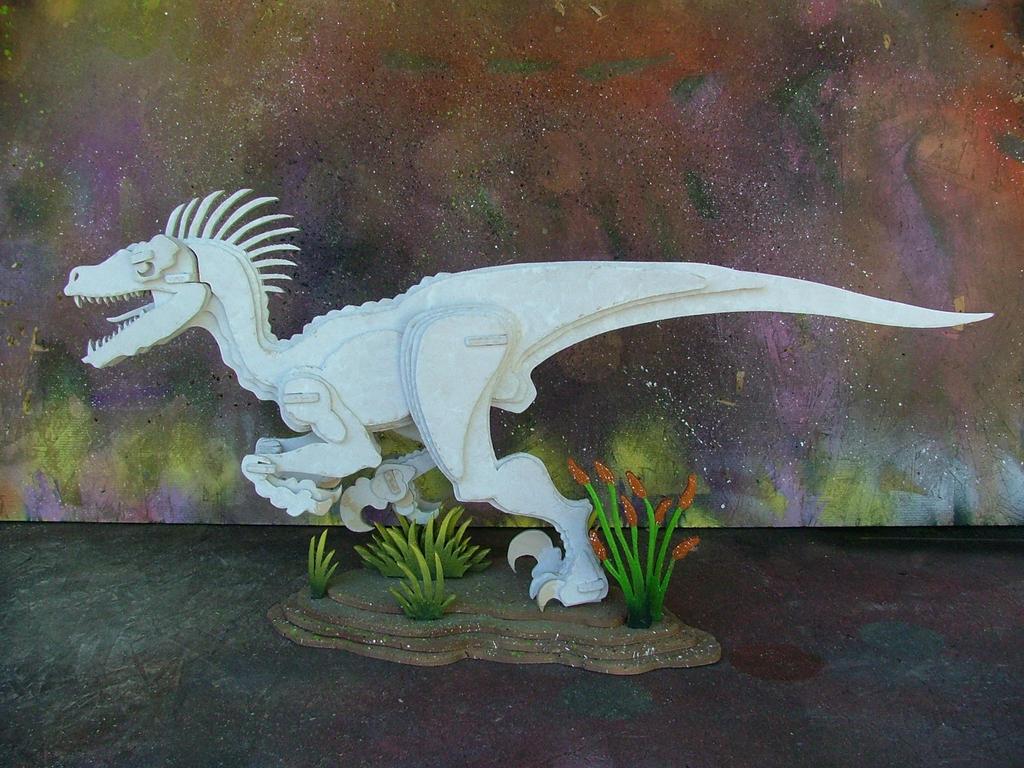 V Raptor (White Base Coat) by RamageArt