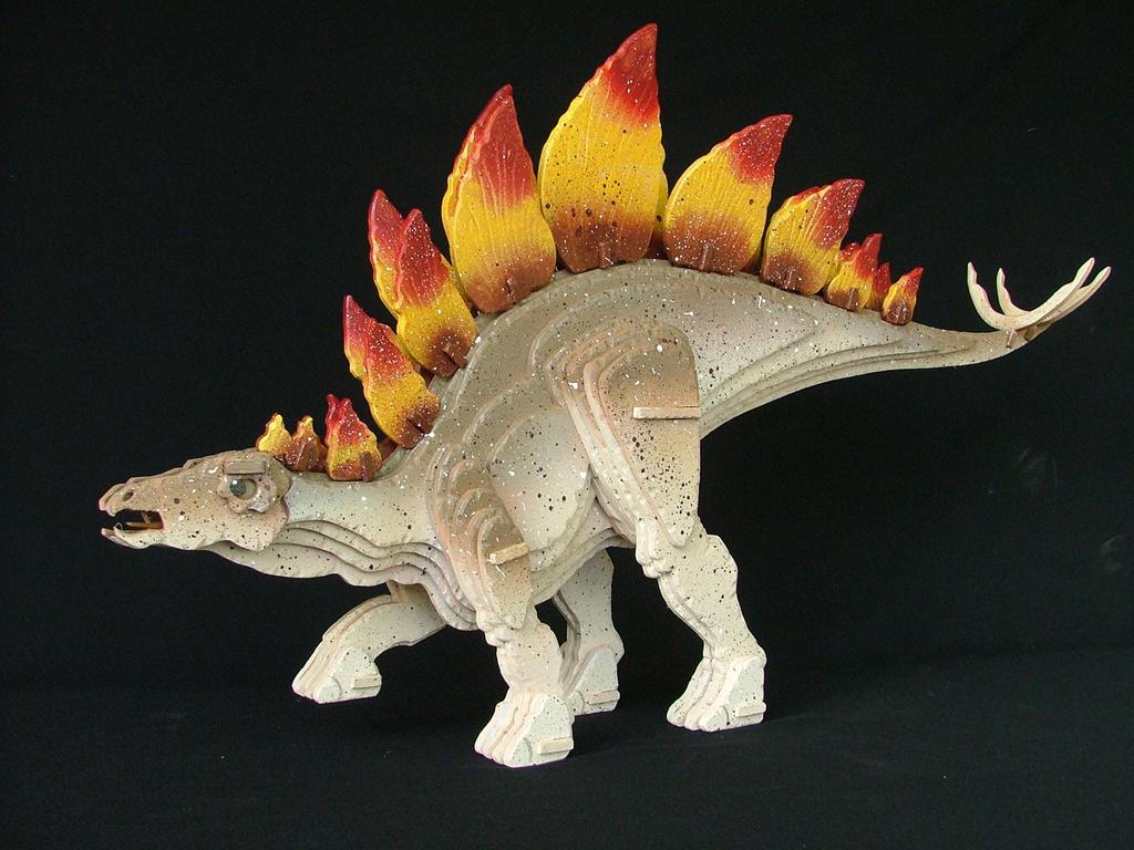 Stegosaurus Final by RamageArt