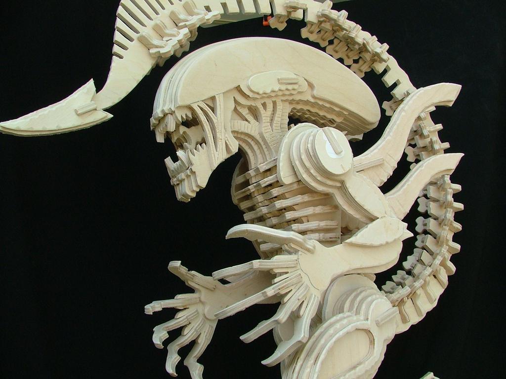 Alien (After Sanding) by RamageArt