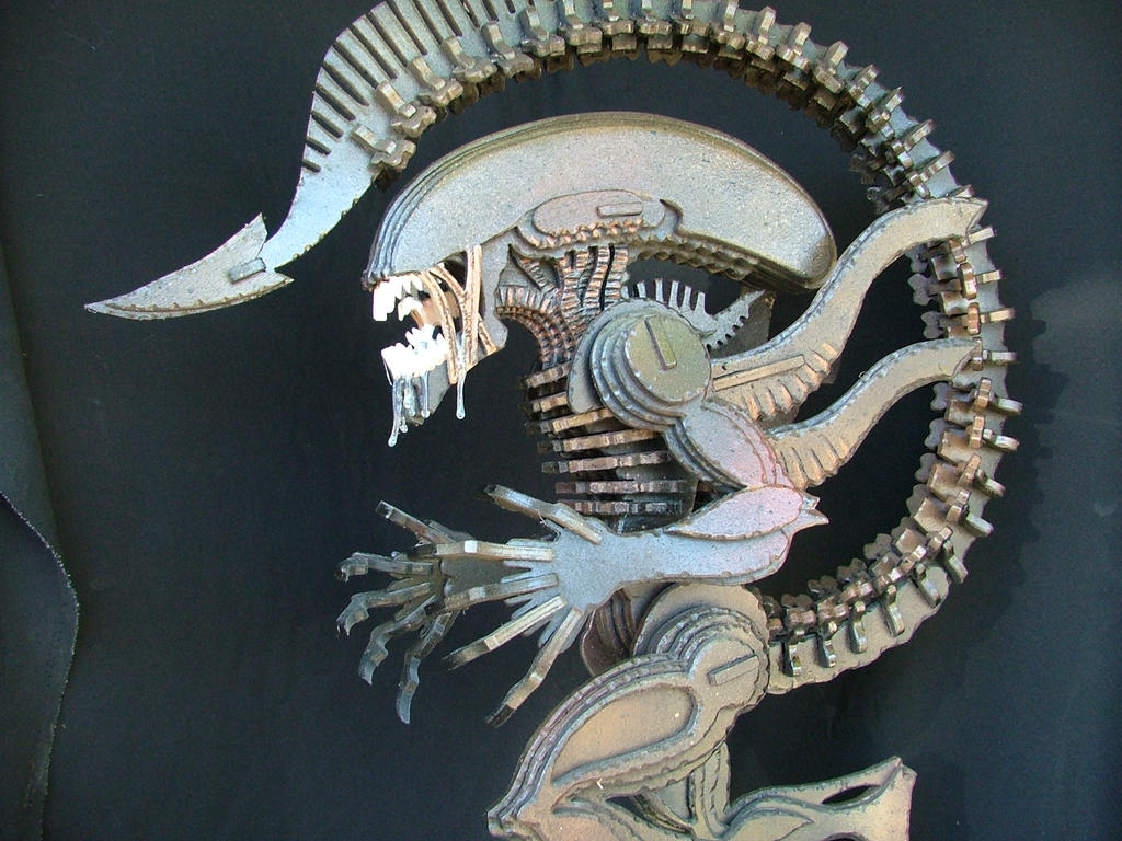 Alien (Detail) by RamageArt