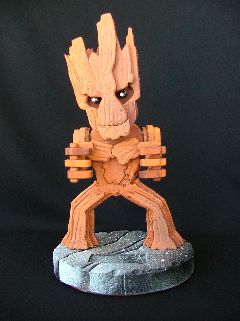 Groot Business Card Stand by RamageArt
