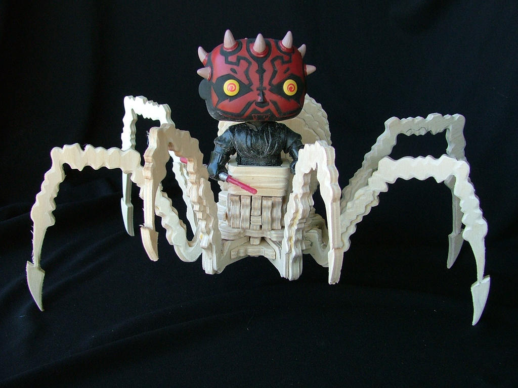 POP Darth Maul Spider (Unpainted) by RamageArt