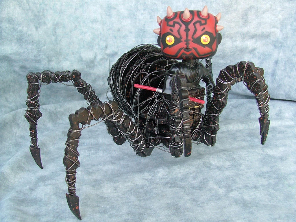 POP Darth Maul Spider Body (Final) by RamageArt
