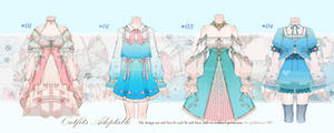 [Closed] Outfits Adoptable auction #9