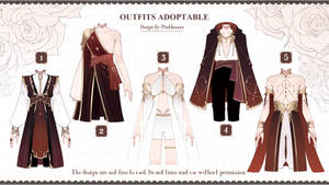 [CLOSED] Outfits Adoptable auction #22-2