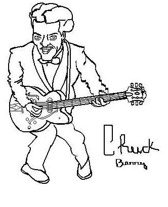 Chuck Berry by ane292