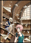 collab with fyurama (or: how to loot a library)