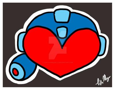 GIFT Rockman Love by LonchArmadillo