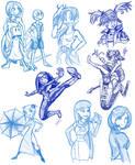 Snowmageddon sketches