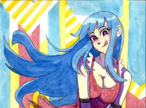 Me! Me! Me! watercolor