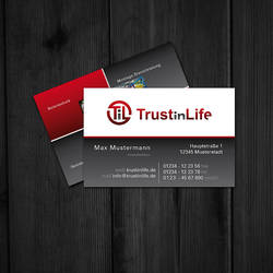 Trust In Life BusinessCard v3 by knobibrot