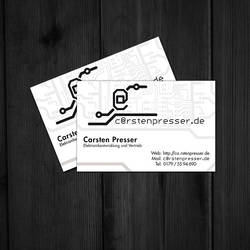 Carsten Presser BusinessCard by knobibrot