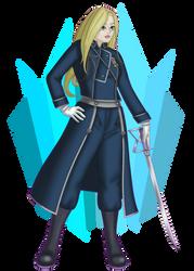Olivia Armstrong: Full Metal Alchemist Brotherhood by poisonedlava