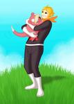 Ryu and Slowpoke