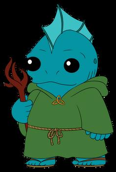 Fishfolk Druid