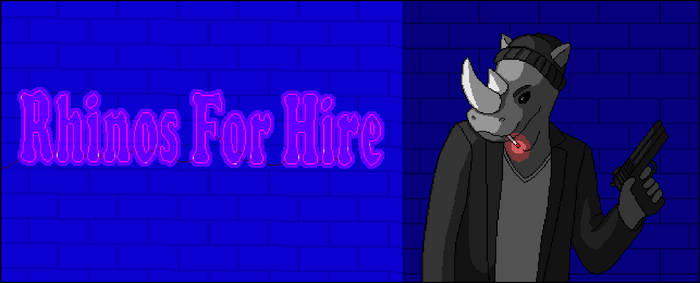 Rhinos for Hire Banner