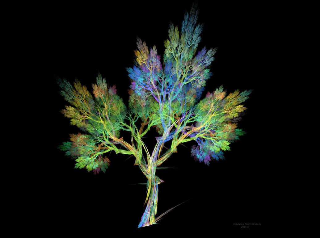 fractal tree 24 - Wish Tree by Alvenka