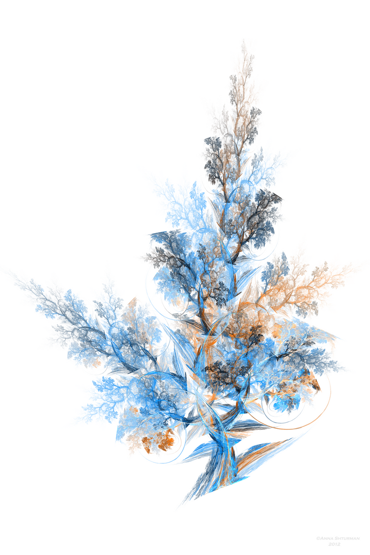 some modified fractal tree 25 by Alvenka