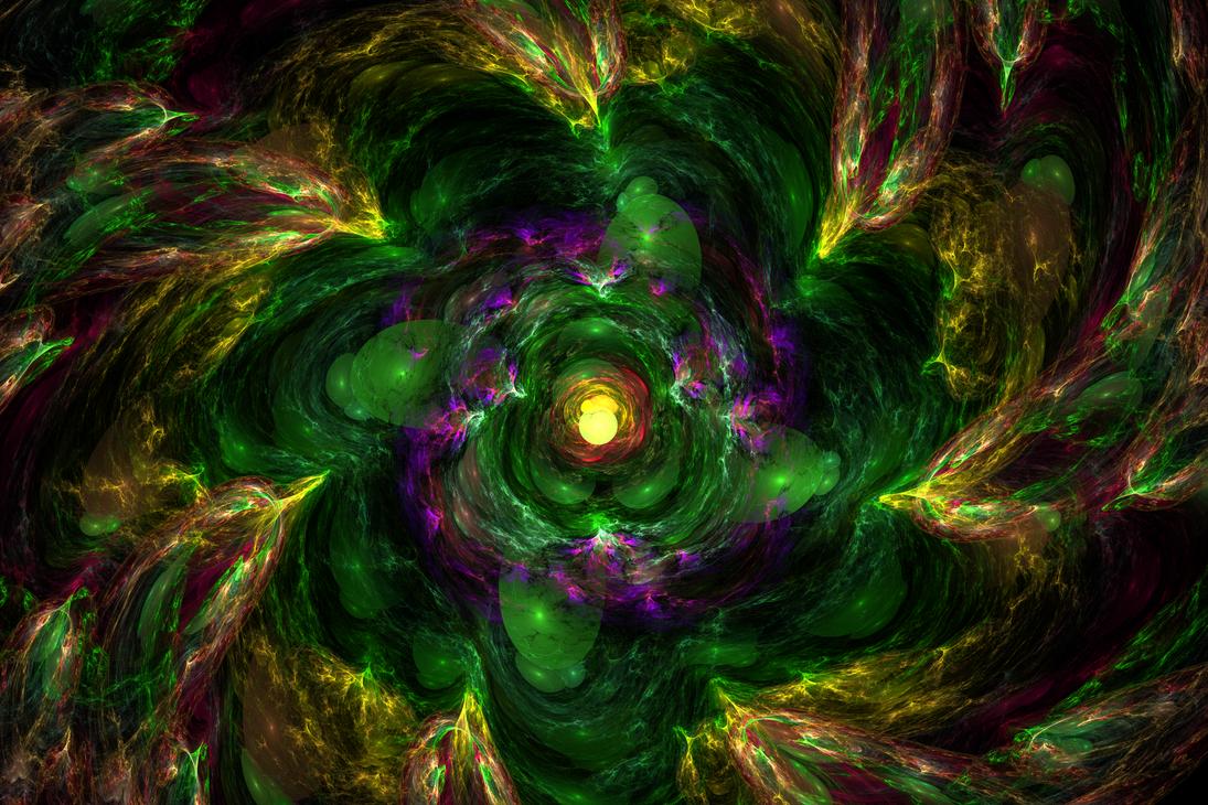 Black Hole - The Birth by Alvenka
