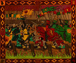 Battle of Blackwater, medieval style