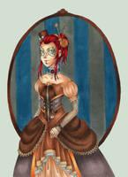 Steampunk Duchess by Lexou-chan