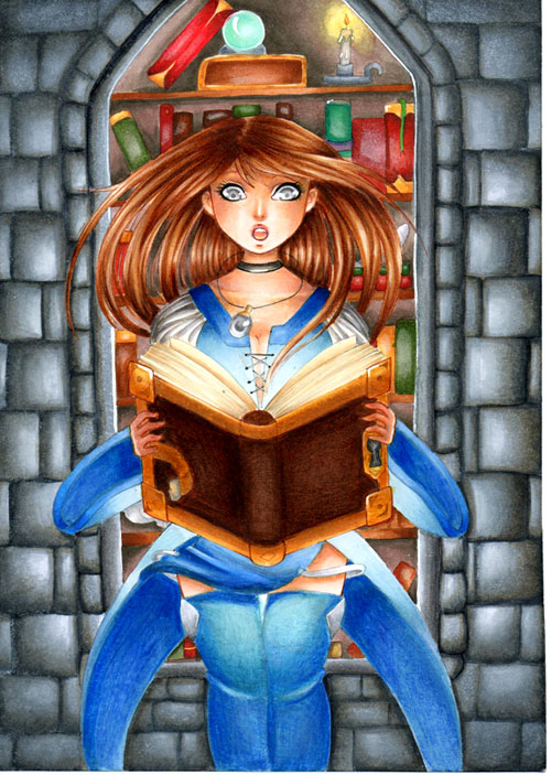 Galerie de Lexou - Page 2 Spell_book_by_lexou_chan-d6fzidm