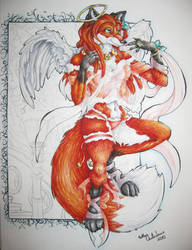 Christmas Angel 2010 by forensicfox