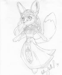 Zelda WIP by forensicfox