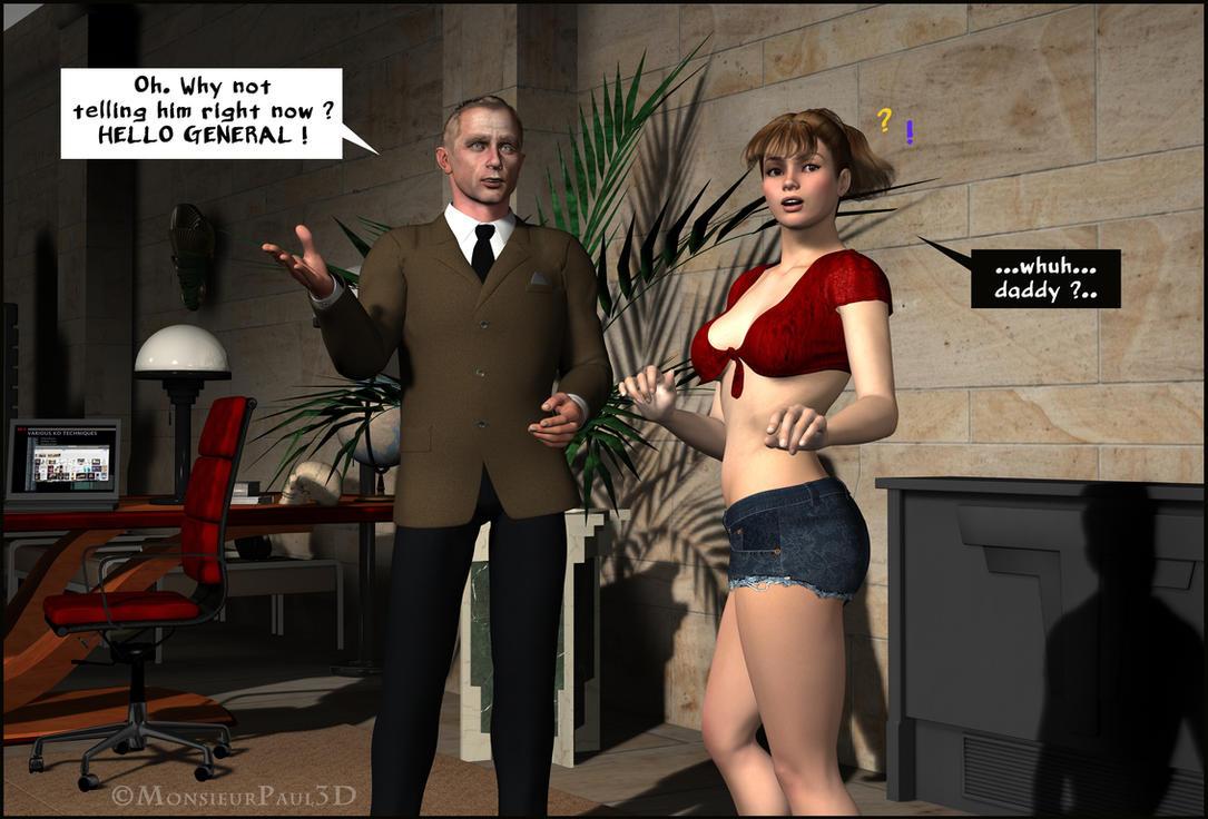 JAMES BONK - Never Say Tazer 07 by MonsieurPaul3D