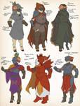 Copperdark uniforms