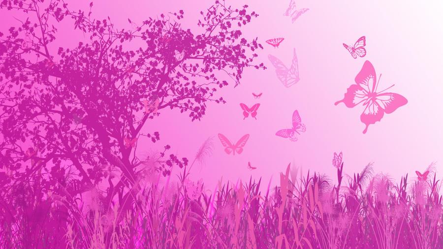 Pink Butterfly Wallpaper HD by Aibu-Maria on DeviantArt