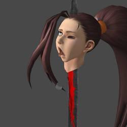 Beheading Thursday: Ibuki-s Head on a Pike!! by Headsondisplay2