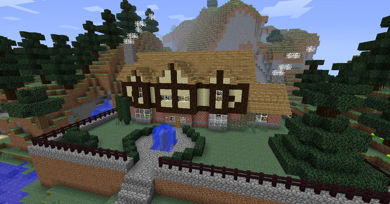 Minecraft Tudor Mansion by NiegelvonWolf on DeviantArt
