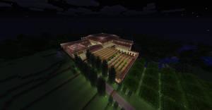 Minecraft Roman Villa 2.0 by NiegelvonWolf