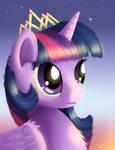 Royalty Portrait - Princess Twilight Sparkle