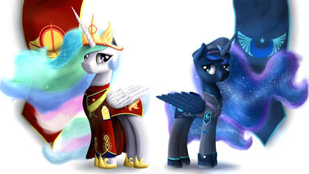 Equestrian Civil War and The Faction Leaders