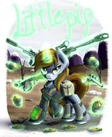 Don't Mess with Littlepip [Fallout Equestria] by NiegelvonWolf