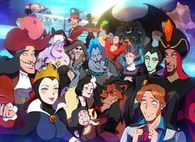 Villains Halloween In Tokyo DisneySea by y-yuki