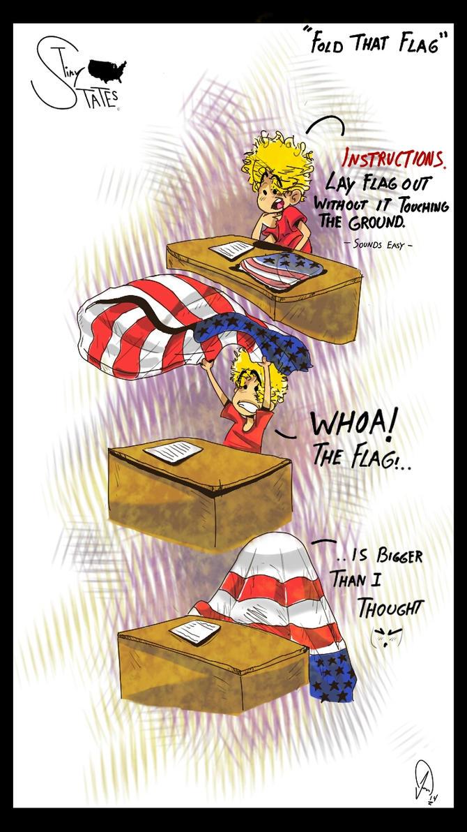 Fold That Flag by TheGenieBoy