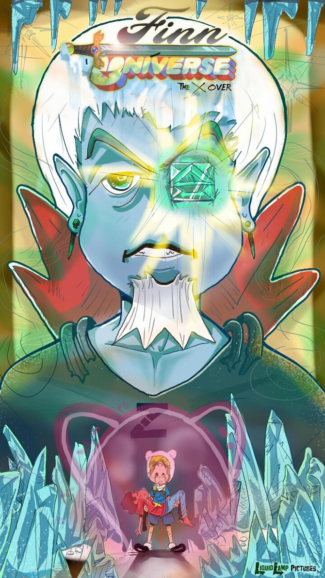 Finn Universe: The CrossOver, Gem 1 CoverArt by TheGenieBoy