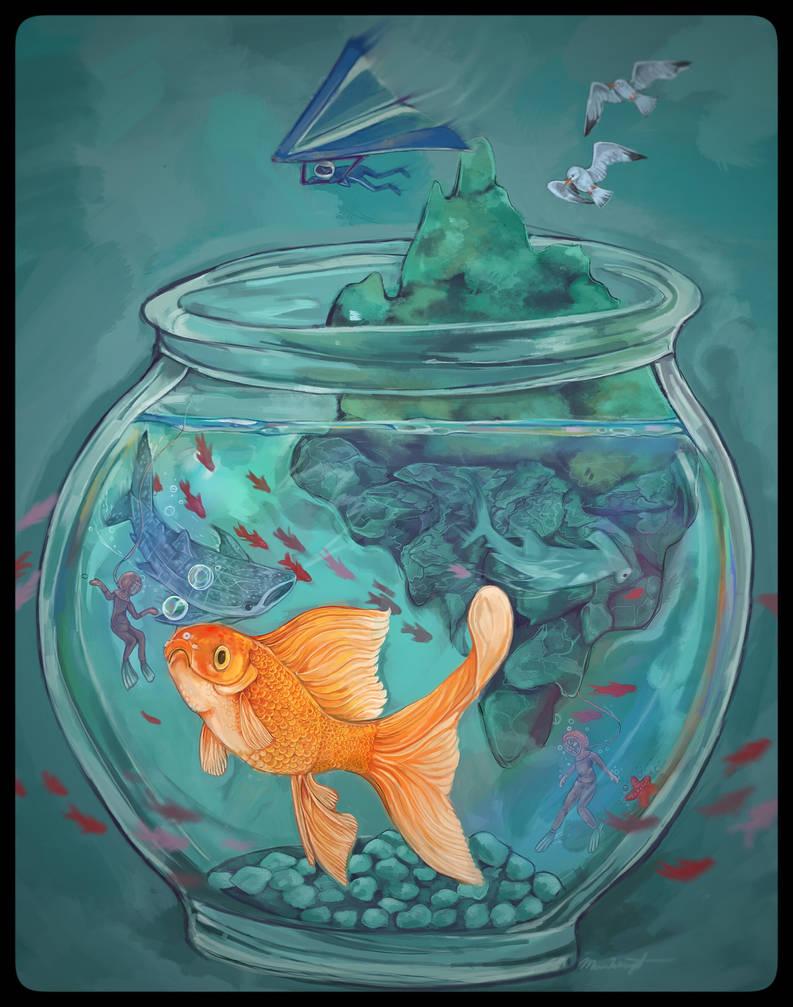 Iridescent Fishbowl