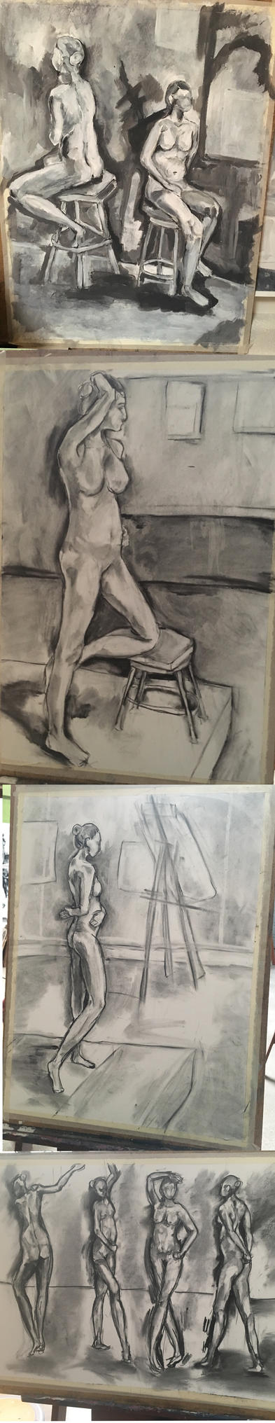 Figure drawings by CapeClawless
